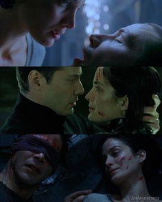 Neo and Trinity - The Matrix Trilogy