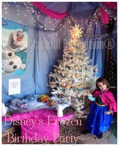 Disney's Frozen Birthday Party #frozen #frozenbirthday