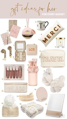 Gift guide for her: What to get her for Christmas! Holiday gift ideas at every budget!