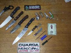 #News  Guarda Municipal de Montes Claros apreende cinco facas em única noite