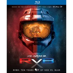 "Blu-Ray version of the RVBX: Ten Years of Red vs. Blue 14-Disc Boxed Set! - Blu-Ray version includes a bonus 15th disc of ""Red vs. Blue Mini Adventures"" - Over"
