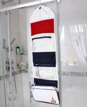 Sailcloth Fold Out Wash Bag