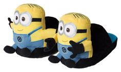 Stompeez Minion Slippers Medium