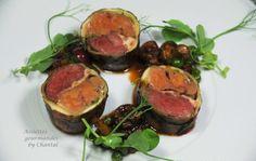 Dodine pigeon Foie gras avec Aurélien Crosato - Assiettes Gourmandes by Chantal !