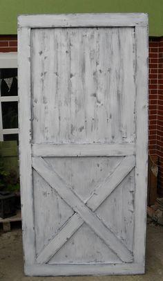 Stodolové dvere Vintage White Patina…