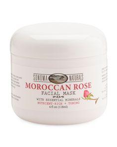 0560edf634 Natural Moroccan Rose Facial Mask - Skin Care - T.J.Maxx