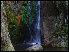 Waterfall naisogop, sianjurmula mula. Samosir