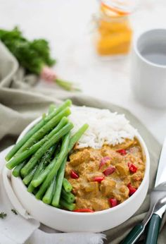 Indian Food Recipes, Asian Recipes, Healthy Recipes, Chicken Madras, 21 Day Fix, I Love Food, Good Food, Low Carb Brasil, Hello Fresh Recipes