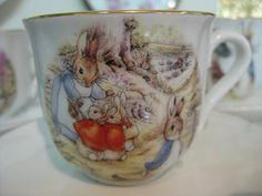 Beatrix Potter tea cup