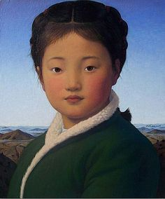 xue mo artist | xue mo miss tong tong 2009 oil on linen xue mo 2009 catherine asquith ...