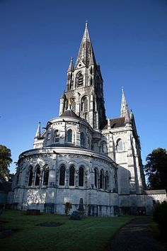 St. Fin Barre Cathedral -- Cork, Ireland -- This Church of Ireland cathedral sits on the spot St. Fin Barre chose in the year 600 for his church and school.