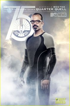 Jeffrey Wright (Beetee): New 'Catching Fire' Posters