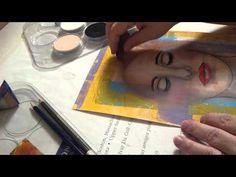 dessin visages et les cheveux par Felicia Borges
