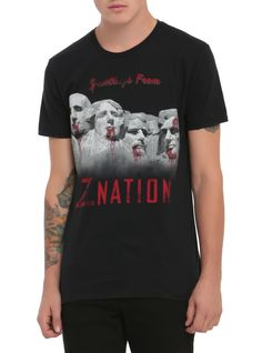 Z Nation Greetings From T-Shirt 2XL | Hot Topic