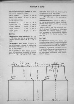 Principi di base per pull Love Sewing, Holidays And Events, Refashion, Knit Dress, Lana, Knit Crochet, Diy And Crafts, Pattern, Knitting Tutorials
