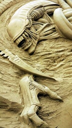 Sand Sculpture, Artist Unknown.