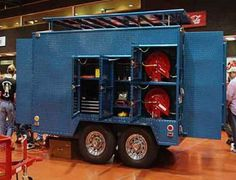 Fully Enclosed Welding Trailer