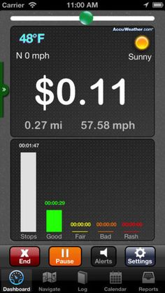 best mileage tracking app iphone