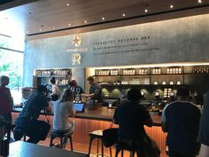 The new Starbucks Reserve Bar is in the McKinney Olive Building in Uptown.