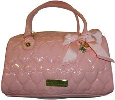 Women's Betsey Johnson Purse Handbag Be Mine Satchel Blush Betsey Johnson,http://www.amazon.com/dp/B00BIO270I/ref=cm_sw_r_pi_dp_2Mznrb0ZYD4EG38X