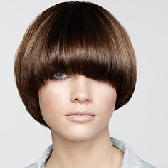 haircut bob hairstyle with blunt bangs hairstyles 4315