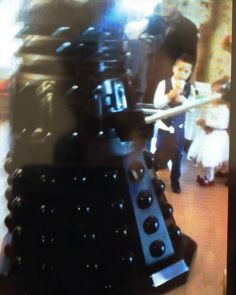 #Dalek at #Wedding in #Asburton near #NewtonAbbot #Devon available for #Hire anywhere in the #UK #DoctorWho #DrWho #Whovian #CultOfScaro…