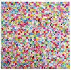 Popular Checkered Quilt Pattern | FaveQuilts.com