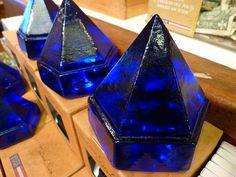 Cobalt blue deck prisms Cobalt Glass, Turquoise Glass, Cobalt Blue, Blue Ivy, Blue And White, Rhapsody In Blue, Blue Bottle, Duck Egg Blue, Blue Plates
