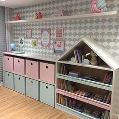 Unicorn Bedroom, Baby Bedroom, Baby Room Decor, Room Decor Bedroom, Girls Bedroom, Doll Storage, Small Playroom, Coffee Bar Home, Kids Room Design