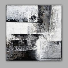 Toile Archives - Home Style Corner Abstract Canvas Art, Oil Painting Abstract, Art Blanc, Composition Painting, Arte Pop, Contemporary Paintings, Minimalist Art, Art Drawings, Fine Art