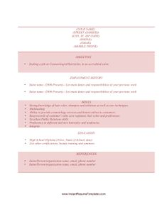 hair stylist resume example resume examples and hairdressers