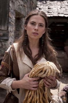 "mademoisellelapiquante: ""Hayley Atwell as Aliena in The Pillars of the Earth - 2010 "" Hayley Atwell, Hayley Elizabeth Atwell, Village People, A Writer's Life, Peggy Carter, Historical Romance, Medieval Fantasy, Character Inspiration, Writing Inspiration"