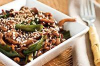 Cantinho Vegetariano: Cogumelos Salteados com Molho Oriental (vegana)