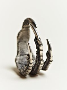 Claw Ring - sculptural statement jewellery // Ann Demeulemeester