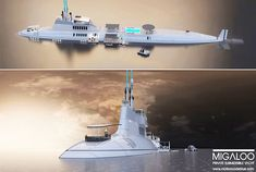 Most Expensive Submarines: Migaloo - Rich and Loaded