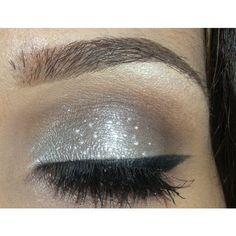 New Year's Eve make-up look