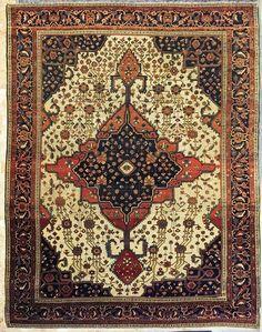 tappeto farahan persia  antico
