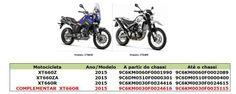 Complemento recall Yamaha XT 660R 2015 | T Moto Magazine - chassisblog