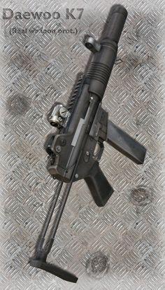 Daewoo K7 Submachine Gun