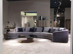 Sofá composable de estilo moderno Divano Desyo Curvy by Carpanelli Contemporary