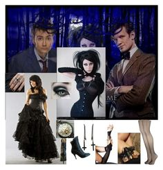 """Season 3 Episode 6 - Doctor Who"" by bvb666him ❤ liked on Polyvore featuring Accessorize, Alex and Chloe, women's clothing, women's fashion, women, female, woman, misses and juniors"