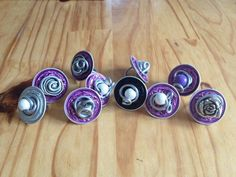 nespresso cup jewelry! how cool!!