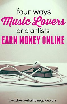 If you enjoy music like myself, read on to learn how you can use your music skills to earn money online.