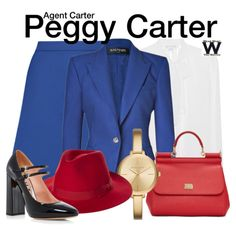 Agent Carter by wearwhatyouwatch