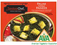 Palak Paneer - spinach and homemade-style cheese simmered and sauteed in an enticing savory sauce from Tandoor Chef!
