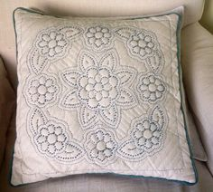 Colonial knots and quilting ...Sandie Lush design.
