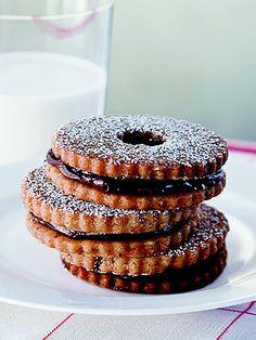 Ina Garten's Chocolate Hazelnut Cookies| Ina Garten