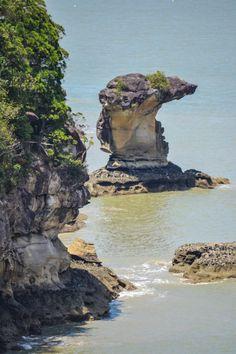 Seastacks, Bako National Park - Sarawak, Borneo