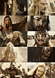 Eomer, Eowyn's brother.