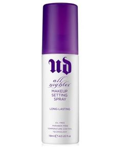 Urban Decay All Nighter Makeup Setting Spray, 4.0 fl oz --- must have for wedding day!!!